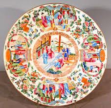 mandarin porcelain 7752 mandarin pattern porcelain charger c1820 for