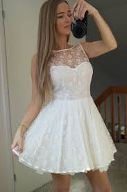 simple dress pretty short white lace short 2015 homecoming dresses