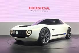 honda previews new convertible sports new honda sports ev concept revealed at tokyo auto express