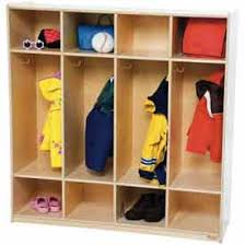 kids lockers school furniture preschool lockers wood finished kids coat
