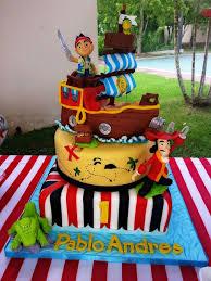 pirate cake buttecream fondant decorations