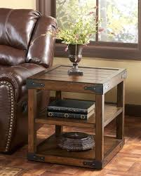 side table brown side tables all weather wicker patio round
