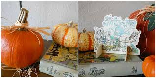 how to include kid crafts with your home decor storypiece