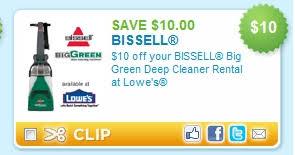 Heb Rug Doctor Rental Bissell Big Green Cleaner Rental At Lowe U0027s 10 Off Or 15 Purchase
