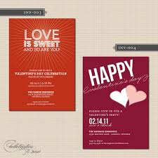 interesting valentine day party invitation card ideas remarkable