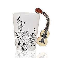 amazon com i mart musical notes design ceramic drink tea coffee