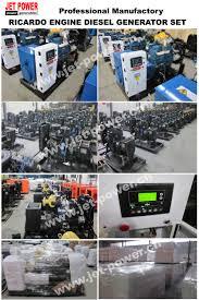 ricardo silent diesel generator set