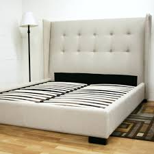 leather upholstered headboards cheap low bed frame bare look pictures profile king headboard of