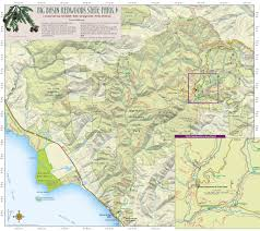 Henry Cowell State Park Map by Big Basin Redwoods State Park Map My Blog