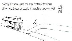 Memes Problem - philosophers job trolley problem jpg