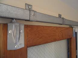 Exterior Sliding Door Track Systems Exterior Barn Door Track System Barn Door Ideas