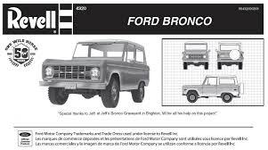 white bronco car ford bronco model kit broncograveyard com