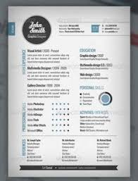 creative resume template download free resume template and