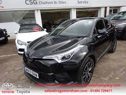 toyota chr used black toyota for sale buckinghamshire