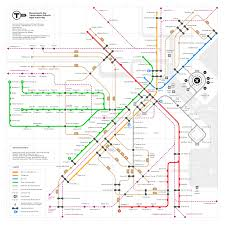 Silver Line Boston Map by Mbta Map Redesigns Bostonography