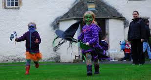 google 2017 halloween game traquair house traquair house