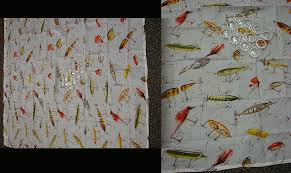 moose r us com antique fishing lure shower curtain with rings