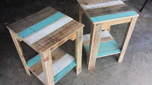 pallet nightstands side tables 101 pallets