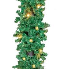 unlit pre lit garland decorations display sales