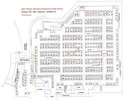 trade show floor plan exhibitor location map u2013 wits 2017 oct 17 19 century ii wichita ks