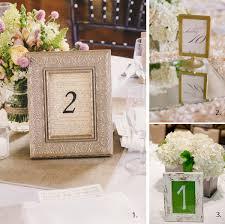 Table Numbers Wedding Wedding Table Number Ideas Wedding Tables Table Numbers And