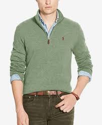 macy s ralph sweaters polo ralph s half zip merino sweater sweaters