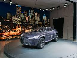 lexus ux suv concept paris lexus has a wild new concept car that uses holograms instead of
