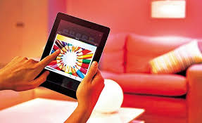 philips hue an app that controls the lighting in your house at a
