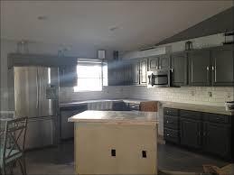 mini subway tile kitchen backsplash backsplash glass tile gray blend kitchen mini makeover self
