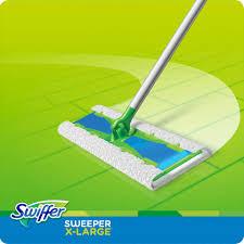 Swiffer Laminate Floor Cleaner Swiffer Sweeper X Large 92816 Floor Mop Starter Kit Green Staples