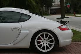Porsche Boxster 897 - gt4 style wing for all cayman and boxsters 987 and 981 page 4