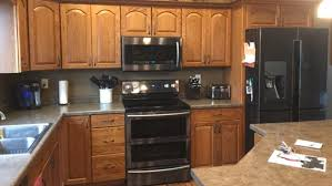 painting over oak kitchen cabinets painting over the past 5 ways to update your 80s and 90s era
