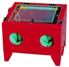 garage and shop equipment sandblast cabinets air compressors
