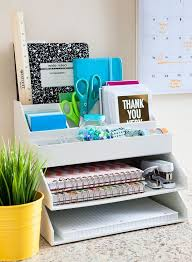 White Desk Organizer 4 Desk Organization Ideas And 25 Exles Shelterness