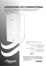 bosch appliances boiler 28cdi user guide manualsonline com