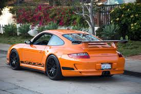 orange porsche 911 gt3 rs 2007 porsche 911 gt3 rs sold historic sports racing cars