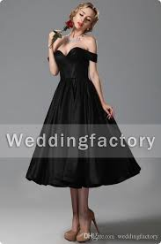 tea length black dresses dress ty