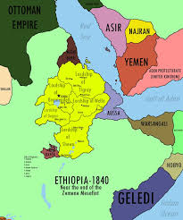 Ethiopia World Map by Map Of Ethiopia And Surrounding States In 1840 Maps Pinterest