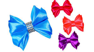 how to make a hair bow easy diy crafts how to make a ribbon bow easy ribbon hair bow
