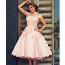 occasion dresses for weddings simple said mhamad prom dresses high neck evening dresses pink