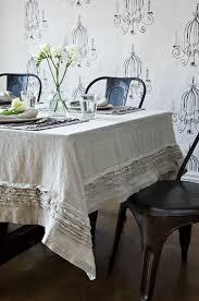 Cheap Table Cloths by Best 25 Linen Tablecloth Ideas On Pinterest Transitional Bath