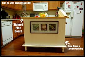 kitchen island buffet desk repurposed to kitchen island mind on medicine
