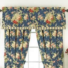 Windows Valances Decorating Waverly Fabric Curtains Waverly Window Valances
