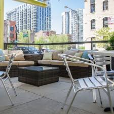 Patio Furniture Chicago Area Bin 36 Restaurant Chicago Il Opentable