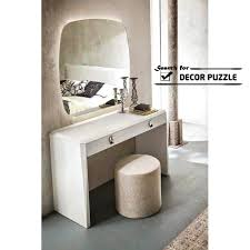 Makeup Vanity Modern Makeup Vanity Table Set With Mirror And Lights Makeup Table With
