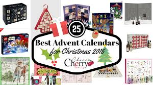 25 best advent calendars for christmas 2016 cherrycherrybeauty