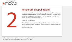 williams and sonoma black friday black friday 2016 macy u0027s web site buckles under heavy traffic