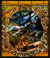 Louis Comfort Tiffany Stained Glass Winter