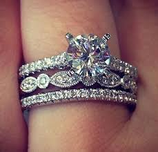 engagement and wedding rings best 25 mismatched wedding bands ideas on