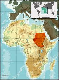 Africa On Map by Mount Stuart Elementary Long Walk Map